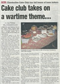 Loughborough Echo article 2012