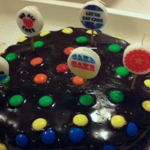 Bright Lights Chocolate Cake