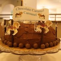 Chocolate Caramel Carousel