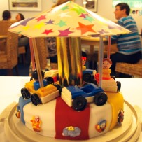 Chris 'n Phil's Carousel Cake