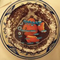 The Last Goldfish Orange Syrup cake