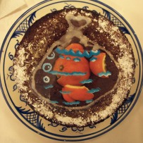 The Last Goldfish Orange Syrup cake