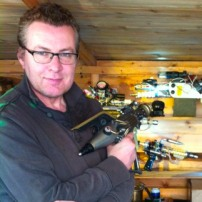 Intergalactic ray guns in the shed. PM