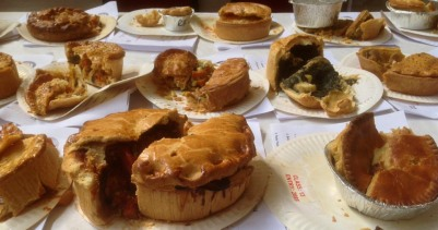 Pies - eaten, all of the.
